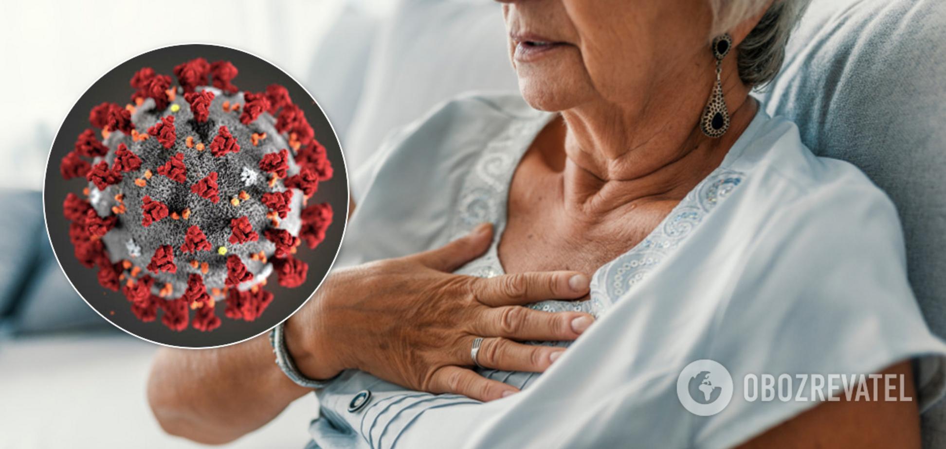 Як відрізнити коронавірус від серцевого нападу: симптоми схожі
