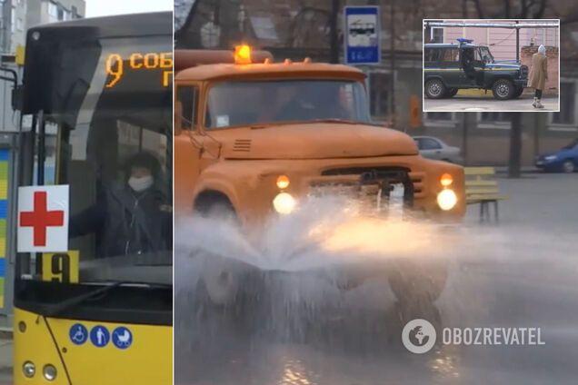 Вулиці обробляють хлором: що відбувається в епіцентрі коронавируса в Україні