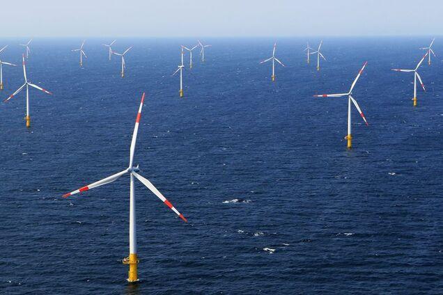 """Вітрогенератори на території """"Водневої долини"""" Нідерландів"""