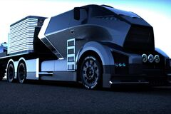 В Украине начали выпуск бюджетных электрических грузовиков