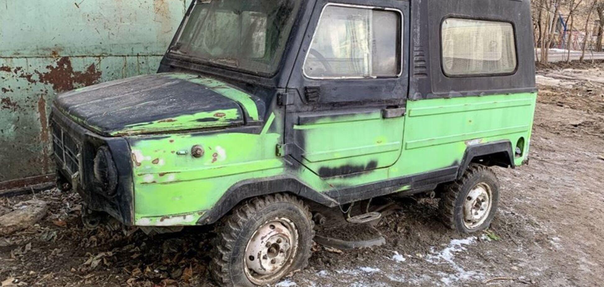 Редкий ЛуАЗ в итальянской доработке нашли при сносе трущоб