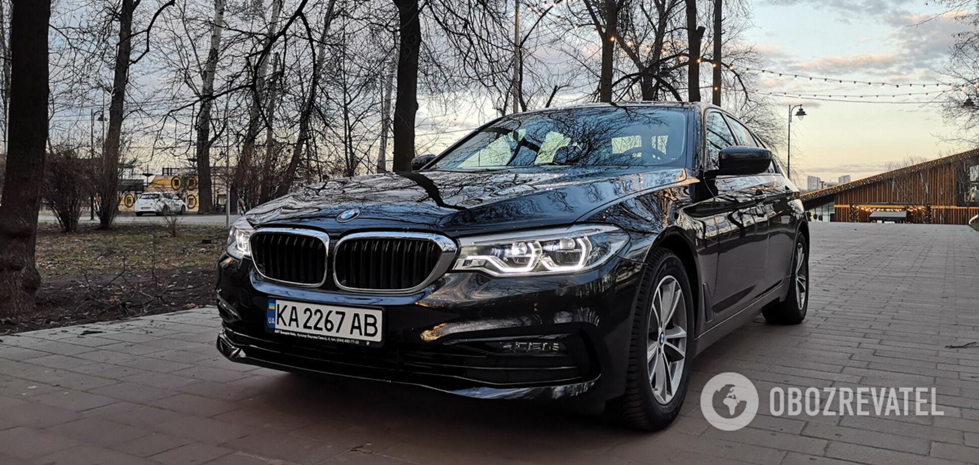 Тестируем BMW 520d: выгодное предложение