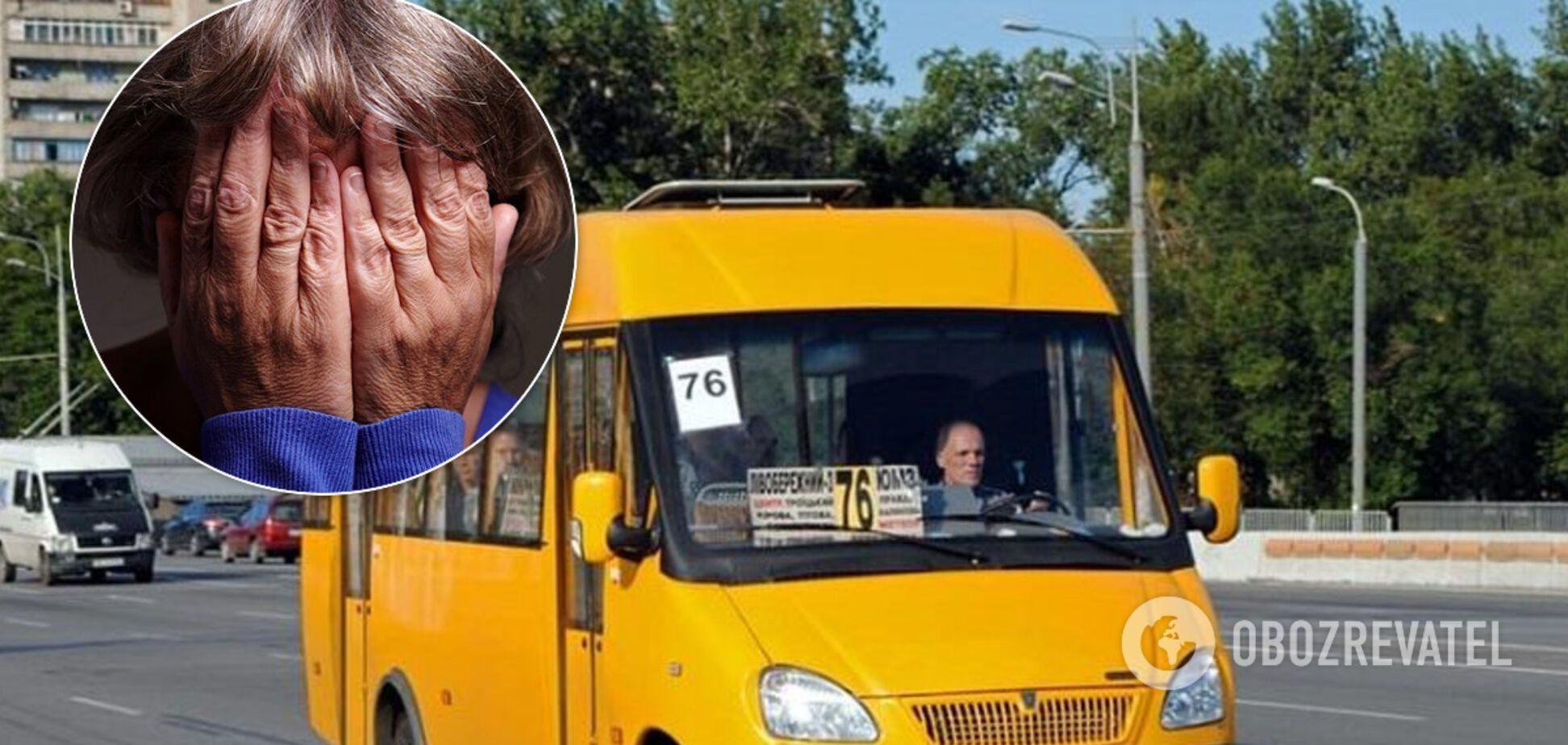 'Вышла! Либо выкину сам!' В Днепре агрессивные водители маршруток нагло выгоняют пенсионеров