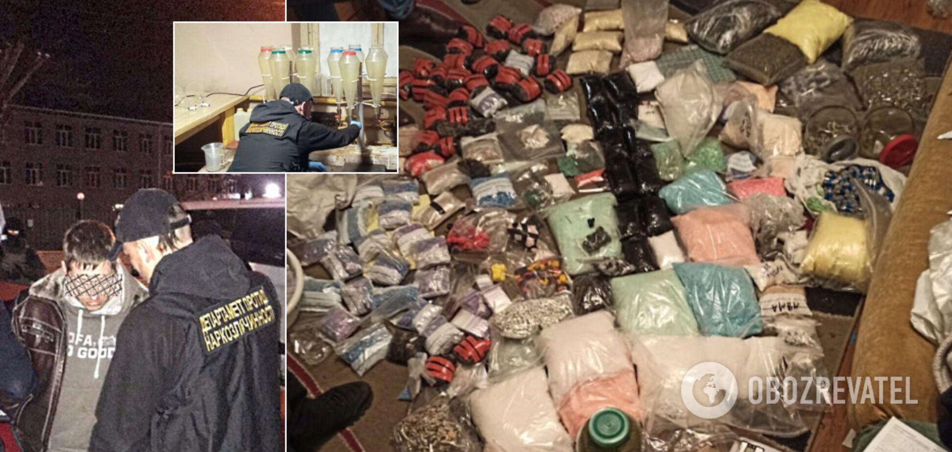 В Киеве разоблачили крупнейшую в Украине сеть интернет-торговли наркотиками: подробности