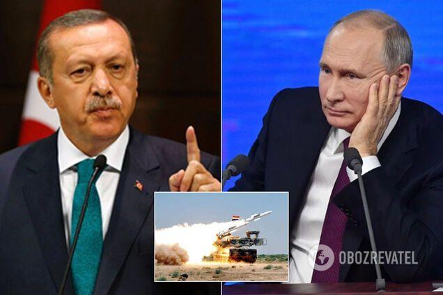 Эрдоган захотел перемирия с Путиным по вопросу ситуации в Сирии