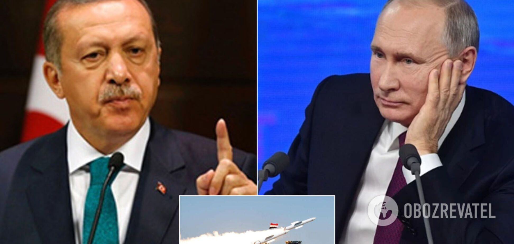 Эрдоган захотел перемирия с Путиным из-за Сирии: в Кремле ответили