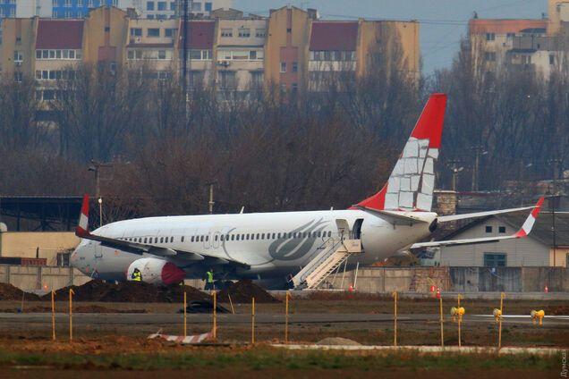 В Одессе аварийный Boeing пустят под нож