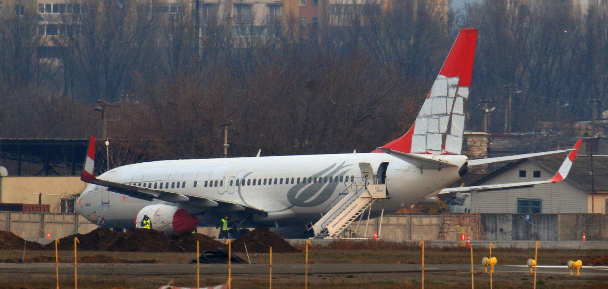 В Одесі аварійний Boeing пустять під ніж