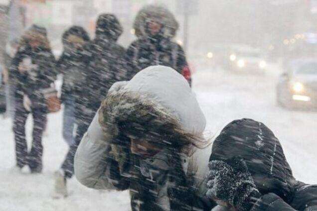 Буря в Украине