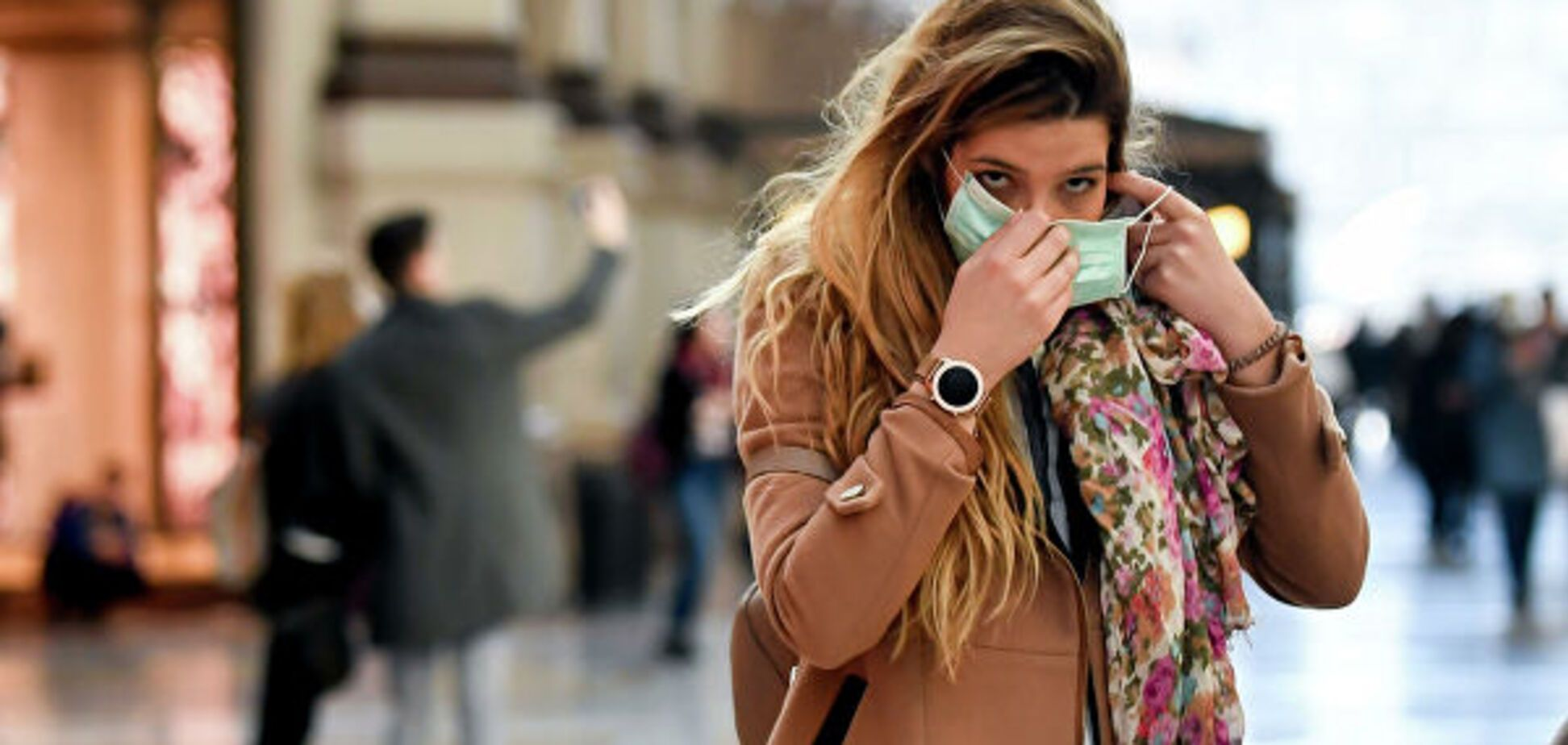 Експерти пояснили, як медична маска може захистити від коронавірусу