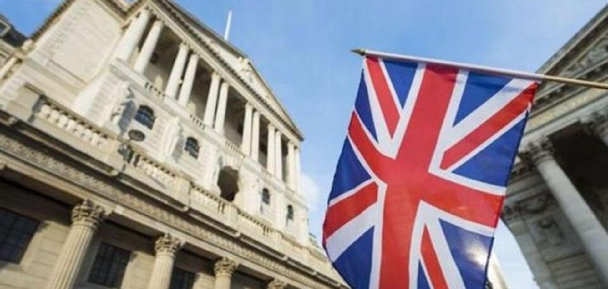 Банк Англії знизив відсоткову ставку до найнижчого рівня в історії