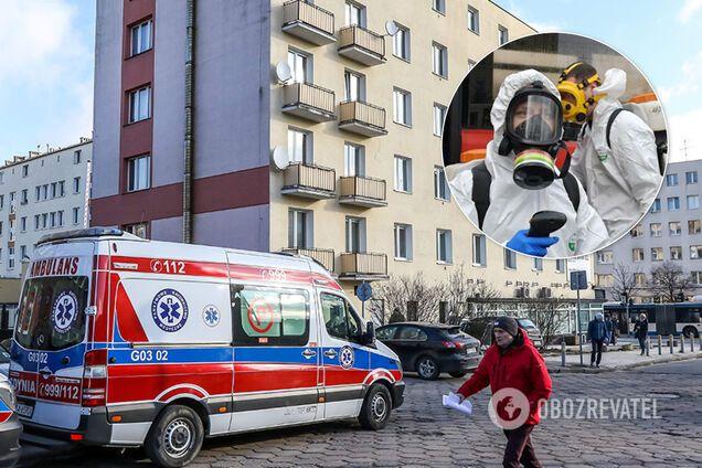 В Польше ввели режим эпидемии из-за коронавируса