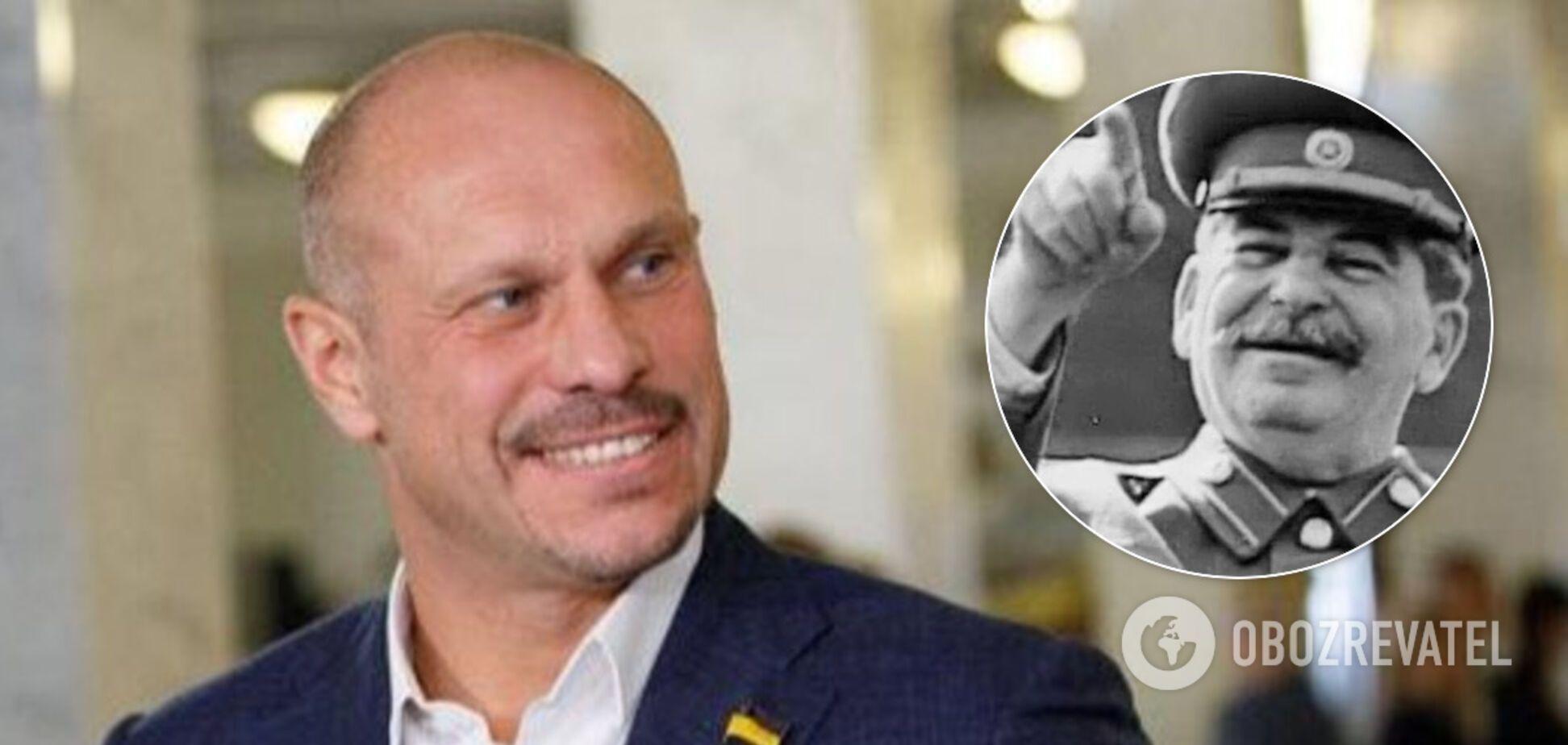 Кива захотів повернути в Україну диктатора Сталіна і нарвався на критику