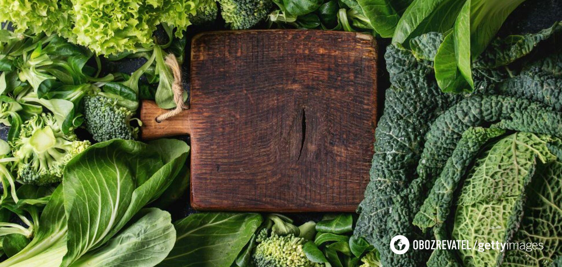 Як правильно готувати свіжу зелень?