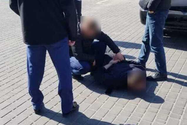 В Одессе задержали полицейского начальника