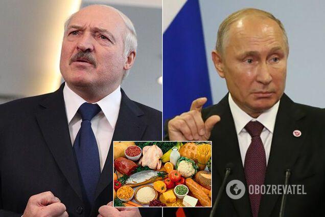 Россия попросила у Беларуси еды