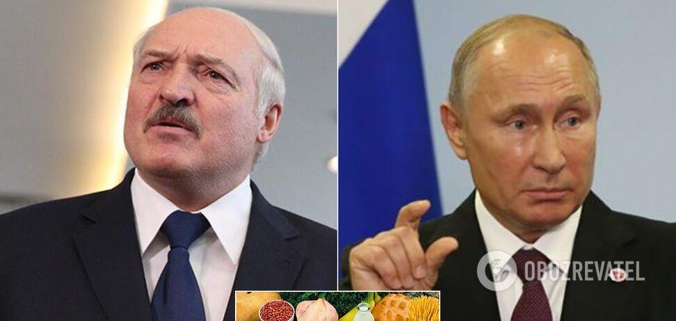 Начинается дефицит: Россия попросила у Беларуси еды