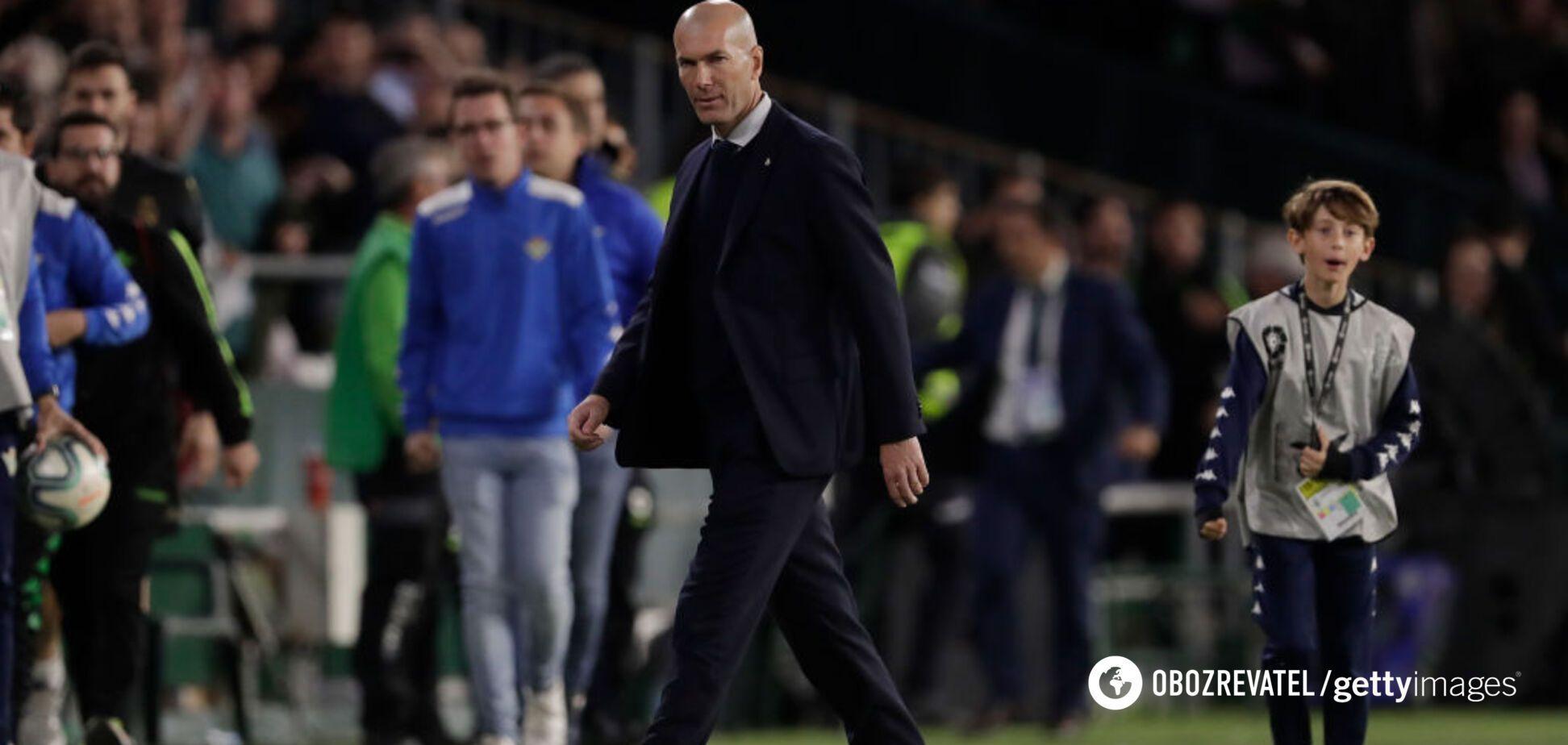 'Реал' ухвалив остаточне рішення щодо Зідана
