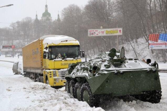 Снежный апокалипсис в Киеве 2013 года
