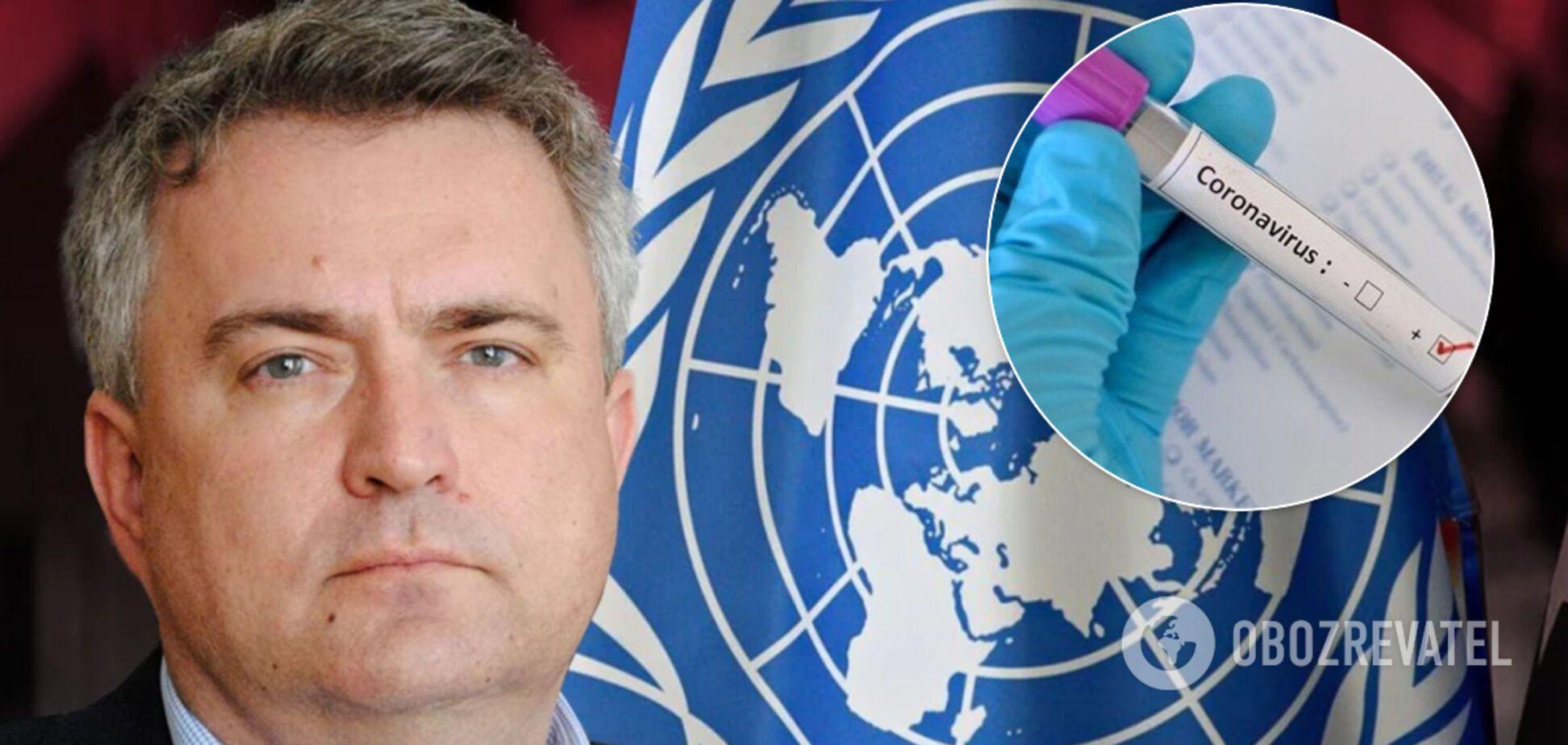 ООН и ВОЗ дадут Украине $58 млн на борьбу с коронавирусом