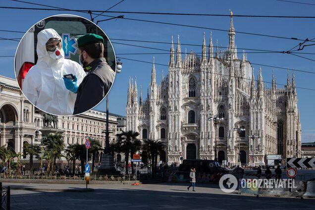Италия первая по смертности от коронавируса