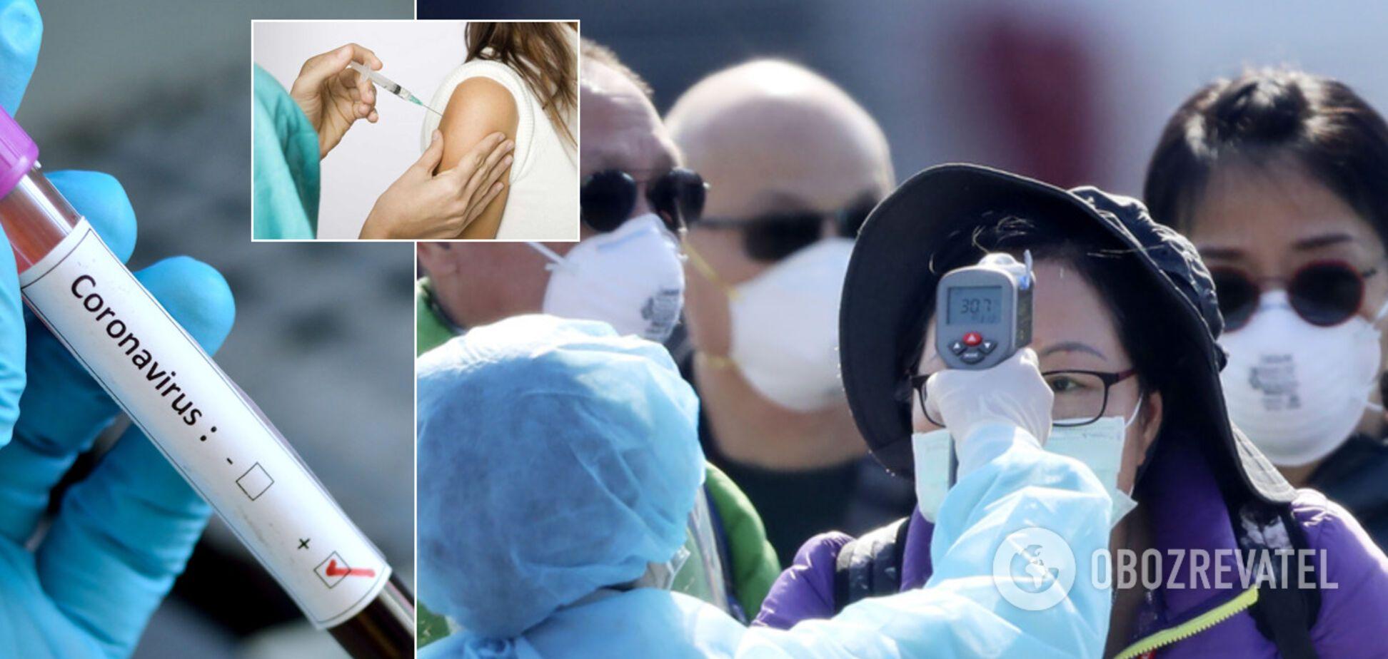 Щеплення від грипу не врятує від коронавірусу – ВООЗ