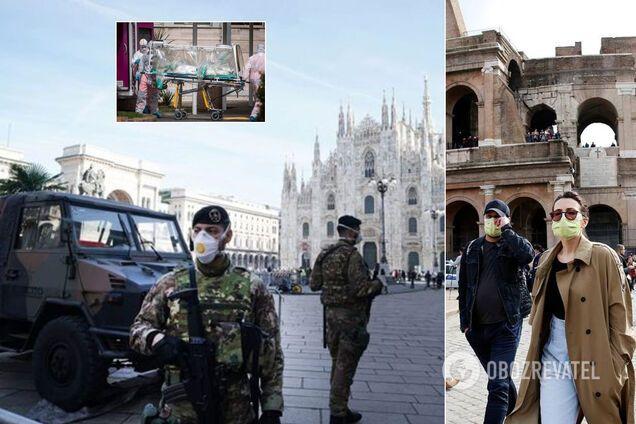 Италия побила рекорды по смертности от коронавируса