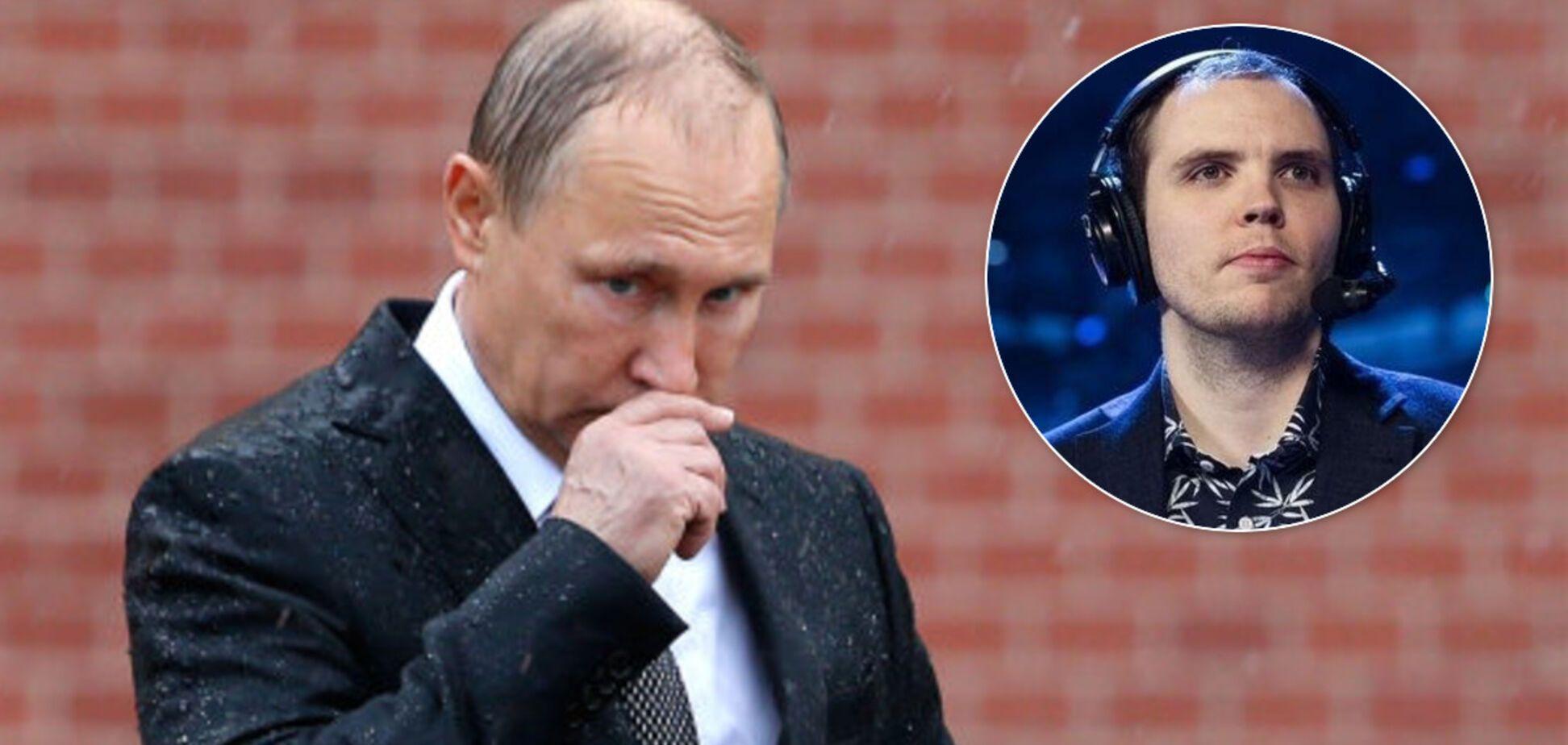 'Это позор': Хенрик AdmiralBulldog Анберг назвал Путина жуликом