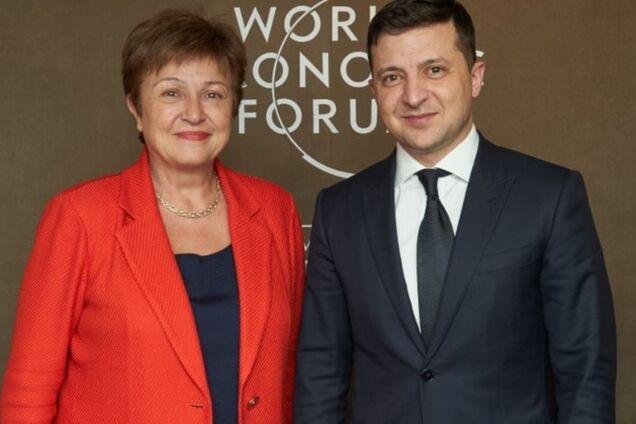 Владимир Зеленский провел телефонный разговор с Кристалиной Георгиевой