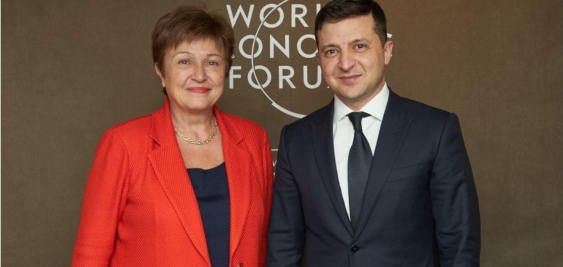 Зеленский срочно связался с главой МВФ из-за пандемии