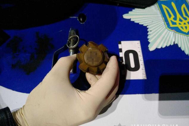 Житель Одесской области пришел на АЗС с боевой гранатой