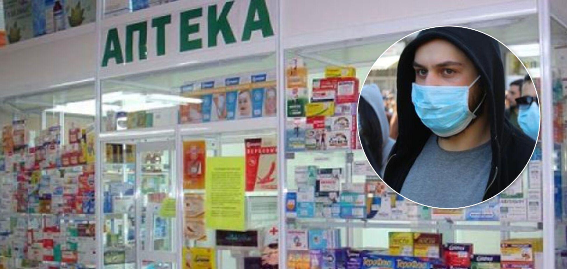 Масок в аптеках не будет: почему обещания Минздрава не помогут украинцам