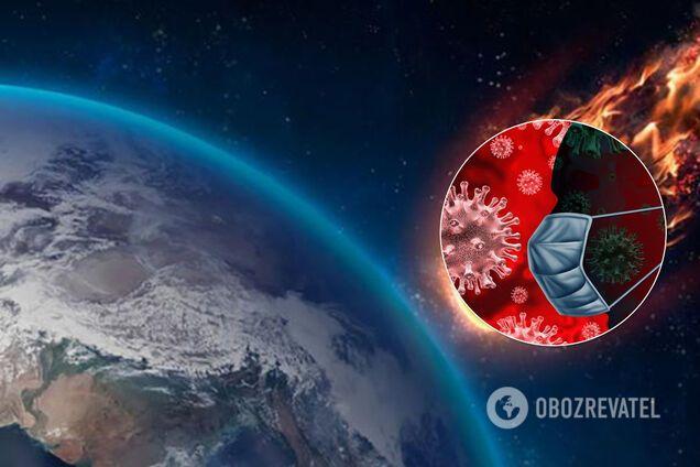 """Коронавірус міг бути """"занесений"""" в Ухань метеоритом із космосу"""