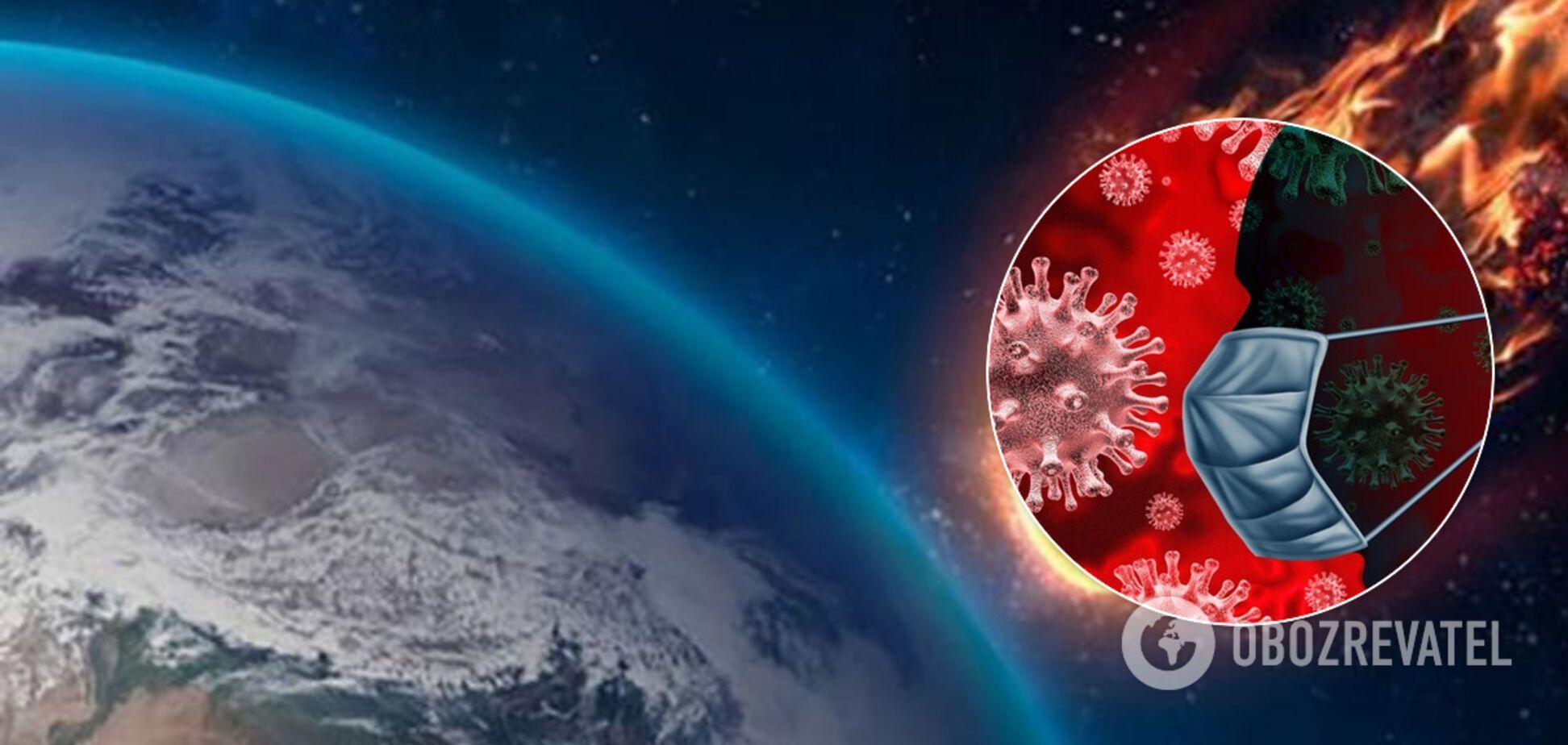 З космосу? Вчений зробив несподіване припущення про коронавірус