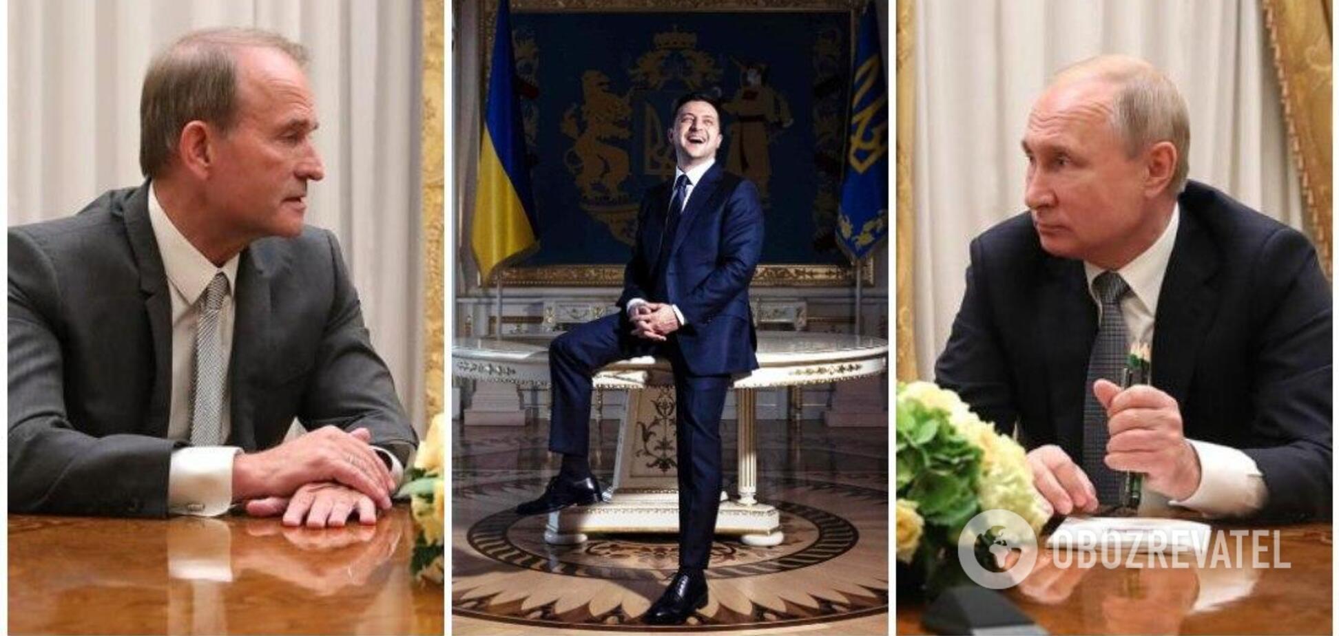 Зеленський може піти у відставку, а позиції Медведчука стануть сильнішими – Портников