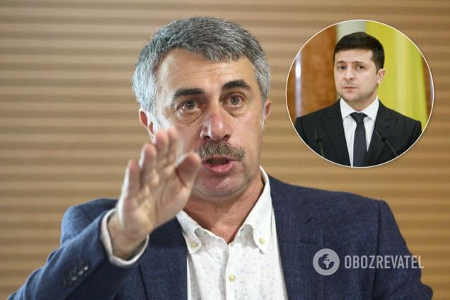 Комаровский сказал Зеленскому, что делать с коронавирусом