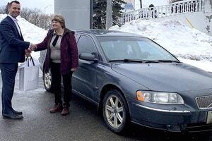 Женщина показала свой 14-летний Volvo c пробегом 1 млн км