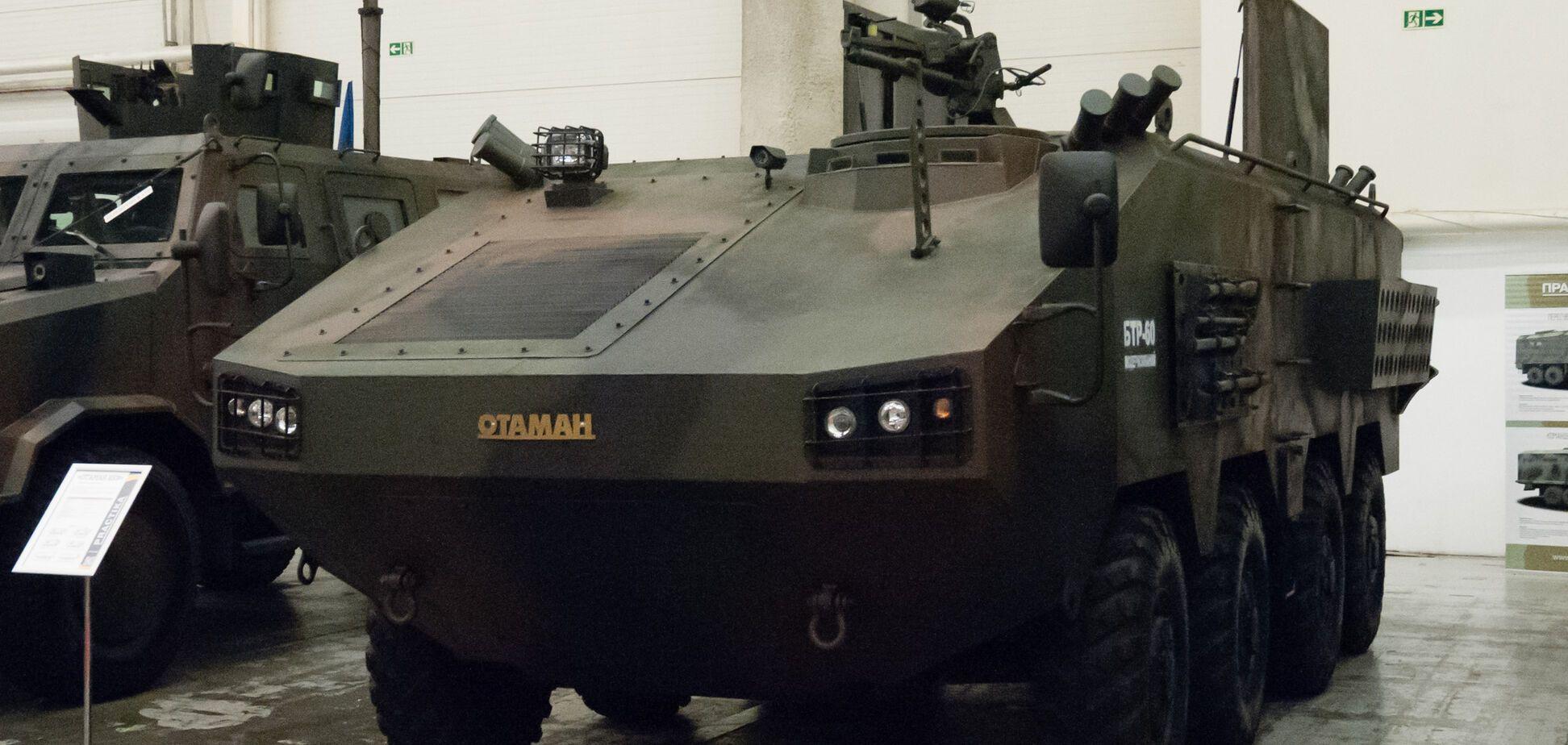 В Украине испытали новейший БТР 'Атаман'