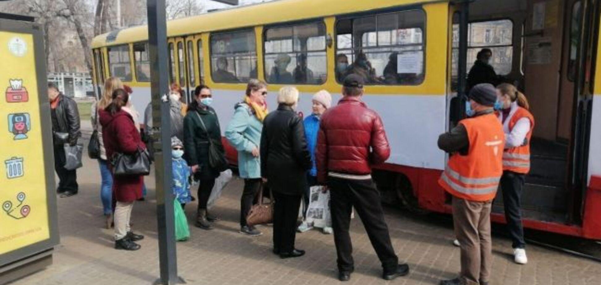 В Одесі ввели жорсткі обмеження на проїзд в міському транспорті