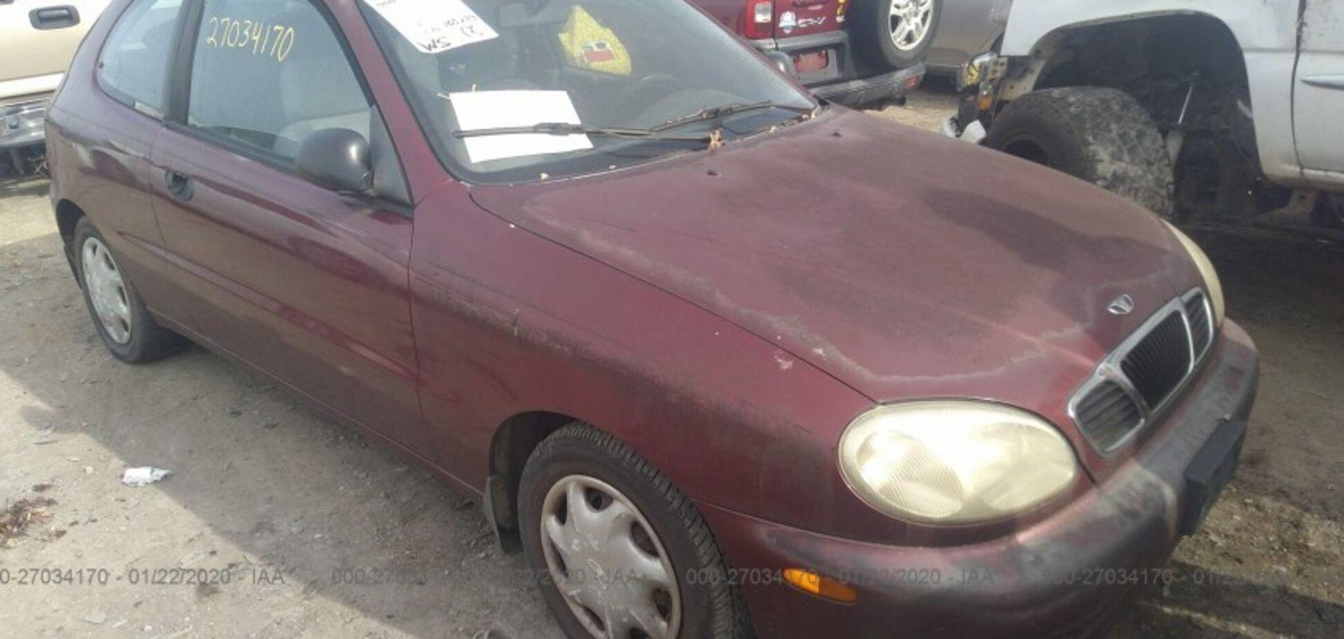 Daewoo Lanos за $ 350: 'живе' авто, але купувати немає сенсу