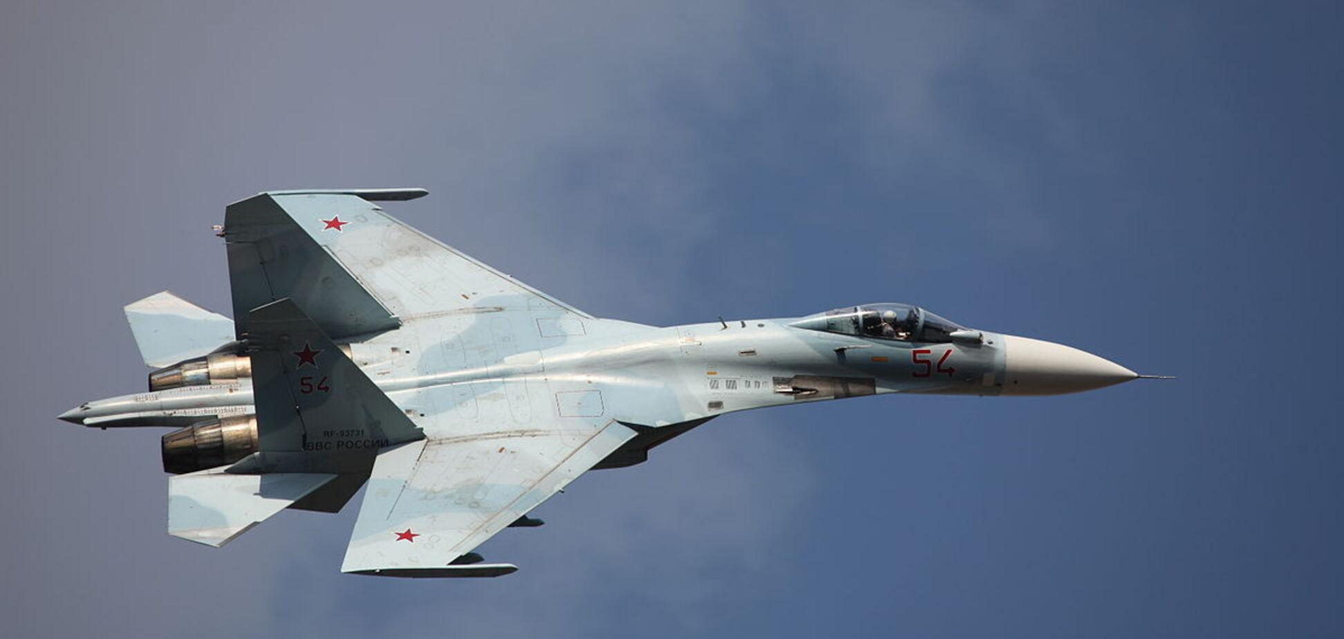 Российский истребитель рухнул в Черное море возле Крыма