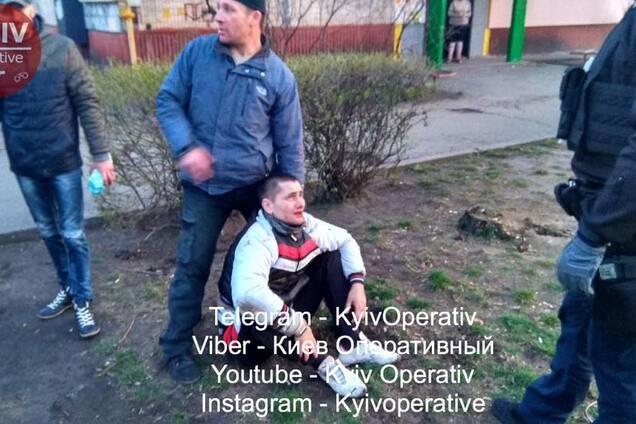 У Києві трапилася стрілянина з потерпілим