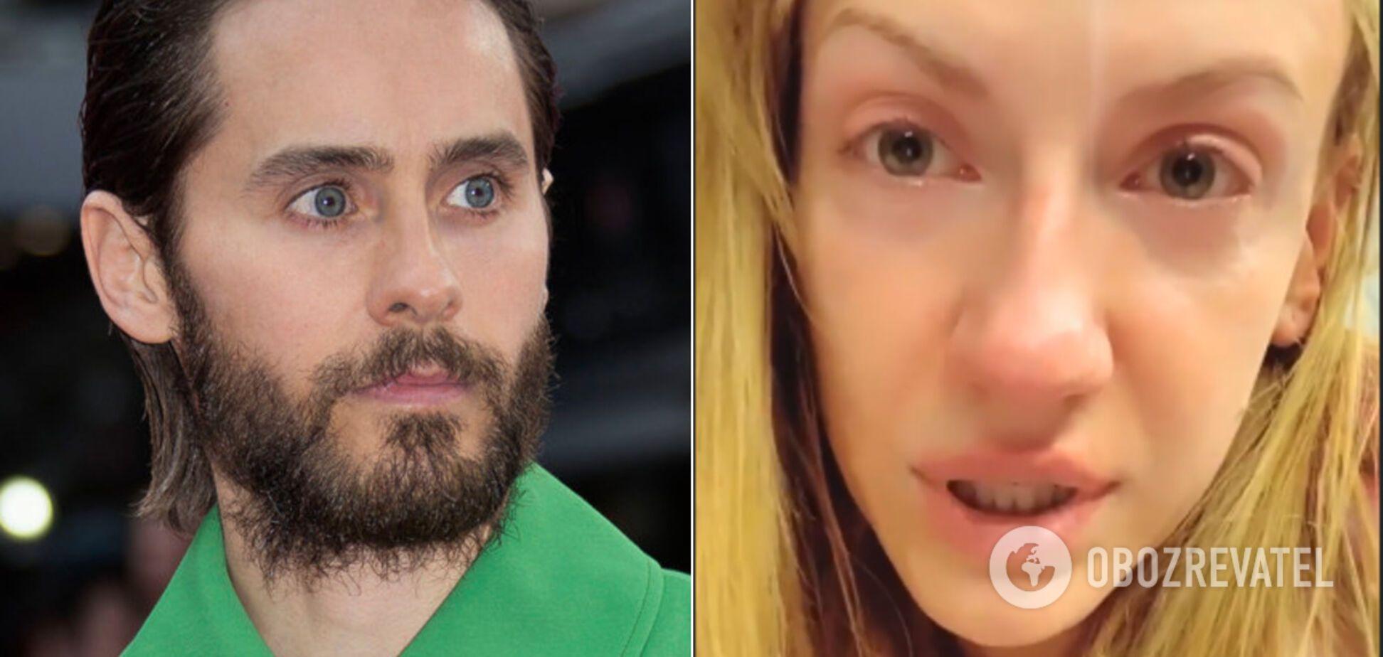 Нікітюк розплакалася через розмову з Джаредом Лето: що трапилося