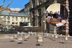 Депутаты Киевсовета провели заседание на улице
