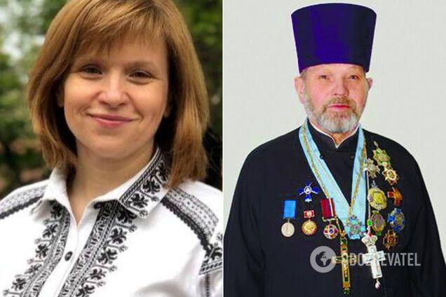 Любомира Мандзій і Степан Хомин