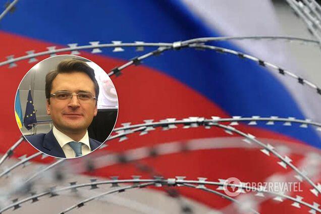 Кулеба застеріг ЄС не знімати санкції