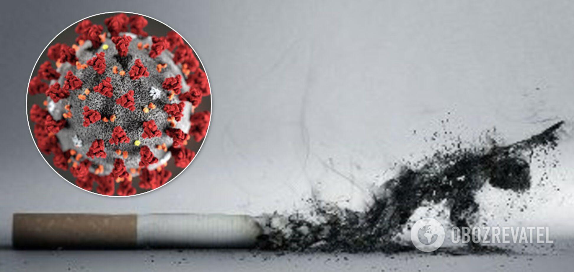Куріння підвищує ризик важкого перебігу коронавірусу