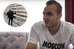 Воротар 'Спартака' висміяв 'росіян, які скуповують туалетний папір'