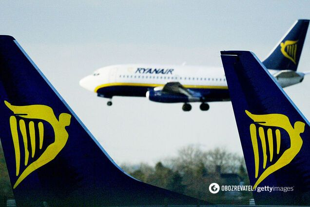 Літаки направлять на допомогу в боротьбі з пандемією: в Ryanair скасували рейси