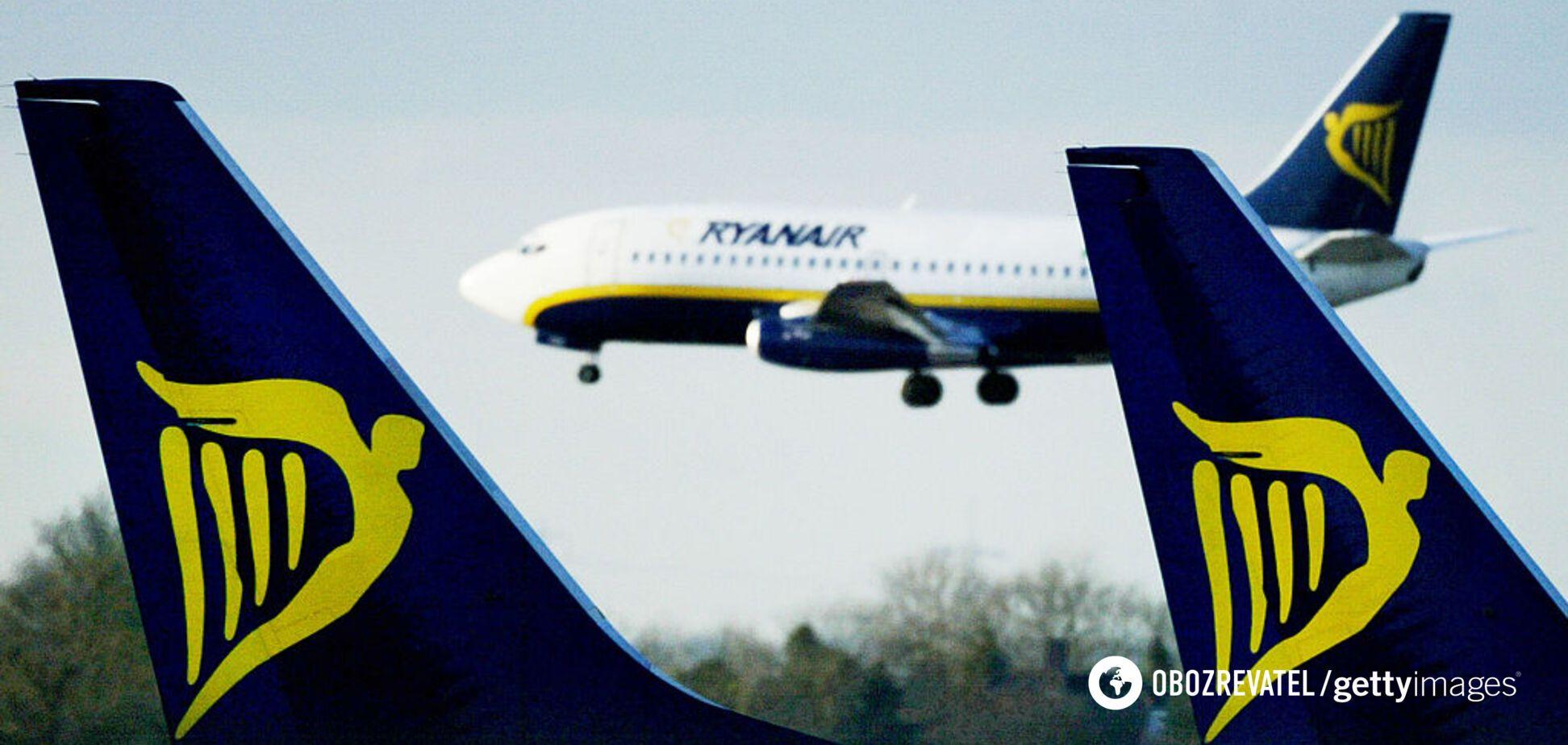 В Ryanair из-за пандемии отменили рейсы